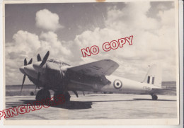 Avion Militaire De Havilland Mosquito * Immatriculé VT 585 Mention Manuscrite Au Dos Rabat Maroc 1949 Corse - Guerre, Militaire