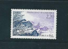 Andorre Timbres De 1989  N°377   Neufs ** - Andorre Français