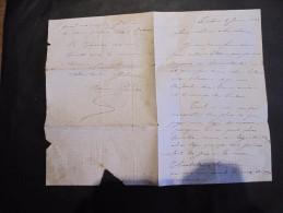 LETTRE De Dame Mariane LENDERS  Rédigée à Dalhem Le 5/1/1882 - Vieux Papiers