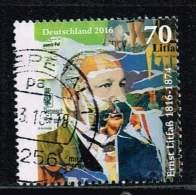 Bund 2016, Michel# 3211 O Ernst Litfaß - BRD