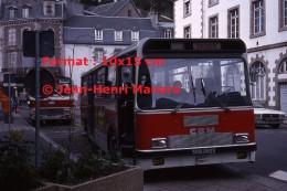 Reproduction D'une Photographie D'un Ancien Bus CBM Ligne Boissiere à Morlaix En 1977 - Reproductions
