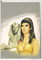 Illustrateur  - Gourdon Michel - Pharaon - Pyramide -   CPM° - Gourdon