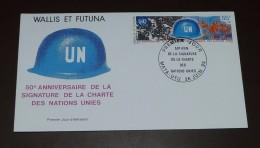 Wallis Et Futuna  Michel 679    50 Jahre   UNO  #cover3469 - FDC