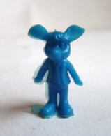 FIGURINE PUBLICITAIRE PRIME Espagnole     - Souris Monochrome Bleu Pas Dunkin - Figurines