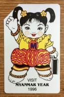 VISIT MYANMAR Phonecard