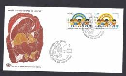 150026064  ONU  YVERT Nº  83/4  FDC - FDC