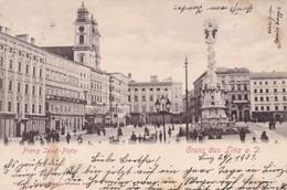 Gruss Aus Linz A. D. - Franz Josef-Platz * 29. 8. 1901 - Linz