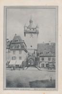 Menu  Publicité J.CLOT Et Cie ,conserven-fabrik ,Strassburger , Schlestadt - Menus