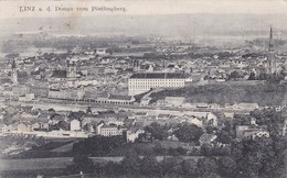 Linz A. D. Donau Vom Pöstlingberg (7896) * Karte Von 1910 - Linz