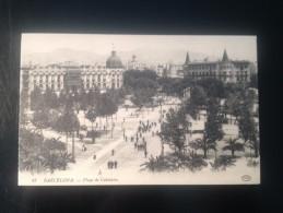 1767) España Spain Barcelona Plaza De Cataluña Ed. EDB - Barcelona