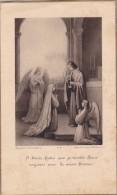 Santino RICORDO PRIMA COMUNIONE 1932 CHIESA S. JACQUES TREPORT BOUASSE -JEUNE ANGLAS PINX   -2-0882-25819 - Devotion Images