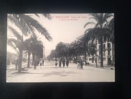 1771b) Spain España Barcelona Paseo De Colon Ed. L. Roisin - Barcelona