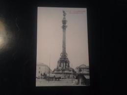 1771e) Spain España Barcelona Monumento A Colon Ed. Angel. T. Viazo - Barcelona
