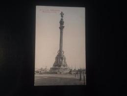 1771F) Spain España Barcelona Monumento A Colon Ed. Angel. T. Viazo - Barcelona
