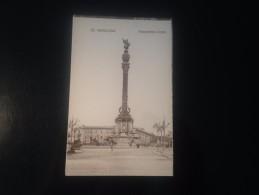 1771H) Spain España Barcelona Monumento A Colon Ed. Fergui - Barcelona