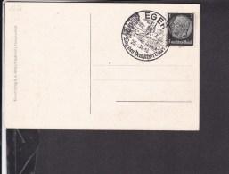 """Ansichtskarte Eger Blick Vom Schustersprung Sonderstempel """" Tag Des Deutschen Volks """" 1939 - Briefe U. Dokumente"""