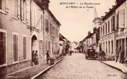 ROUVRAY LA GENDARMERIE ET L'HOTEL DE LA POSTE - France