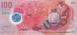 MALDIVES 100 RUFIYAA 2015 (AH1436) PNL UNC  [ MV219a ] - Maldives