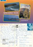 Newcastle, NSW, Australia Postcard Posted 1996 Stamp - Newcastle