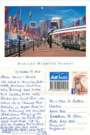 Darling Harbour, Sydney, NSW, Australia Postcard Posted 2011 Stamp - Sydney