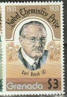 Grenade  Nobel Prize Prix Nobel Carl BOSCH MNH - Nobel Prize Laureates