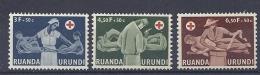 150026112  RUANDA  YVERT  Nº  202/4  **/MNH - Ruanda