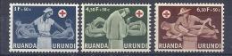 150026113  RUANDA  YVERT  Nº  202/4  **/MNH - Ruanda