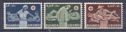 150026114  RUANDA  YVERT  Nº  202/4  **/MNH - Ruanda