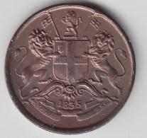 @Y@    East India Company 1/12 Anna 1835  MADRAS  (3040) - Inde