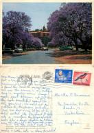 Union Buildings, Pretoria, South Africa Postcard Posted 1968 Stamp - Afrique Du Sud