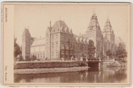 Old Photograph(17x11cm) Amsterdam - Rijks-Museum - Photos