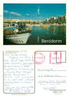 Benidorm, Spain Postcard Posted 1996 Private Post Via UK - Alicante