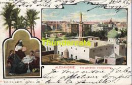 CPA EGYPT ALEXANDRIE VUE GENERALE D´ALEXANDRIE - Alexandrie