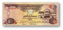 UNITED ARAB EMIRATES - 5 DIRHAMS - 2000 / AH 1420 - Pick 19.a - 2 Scans - Emiratos Arabes Unidos