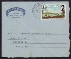 MAURITIUS Postal History Cover - Aerogramme Used 20.5.1978 - Mauritius (1968-...)