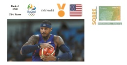 Spain 2016 - Olympic Games Rio 2016 - Gold Medal - Basket Male USA Cover - Juegos Olímpicos