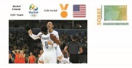 Spain 2016 - Olympic Games Rio 2016 - Gold Medal Basket Female USA Cover - Juegos Olímpicos