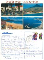 Porto Santo, Madeira, Portugal Postcard Posted 2011 Stamp - Madeira