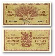 FINLAND - SUOMI - 1 Markkaa - 1963 - P 98.a - Unc. - Finlandia