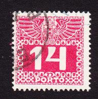 Austria, Scott #J39, Used, Postage Due, Issued 1910 - Postage Due