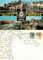 Brescia, BS Brescia, Italy Postcard Posted 1970s Stamp - Brescia