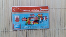 Gibraltar 308 A  Phonecard (Mint,Neuve) Rare