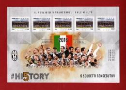 Italia ** - Anno 2016 - Juventus Campione D'Italia, Campionato 2015-2016.   Vedi Descrizione - Codici A Barre