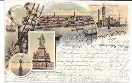 Gruss Aus Bremerhaven. (Voir Commentaires) - Bremerhaven