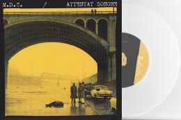 M.D.C. - ATTENTAT SONORE - Split EP - PUNK - Vinyl BLANC - Punk