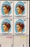 Corner Block -1976 USA Clara Maass Stamp Sc#1699 Health Medicine Nurse Famous Martial Spanish-American War - Medicine