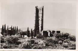 CPA ALGERIE TLEMCEN Le Minaret De Mansourati - Tlemcen