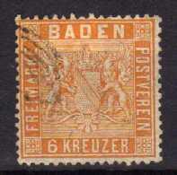 Baden Mi 11 B, Gestempelt [280816XVII] - Baden