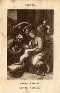 IMAGE PIEUSE SANTA FAMILIA Raphaël - Andachtsbilder