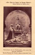 IMAGE PIEUSE SOUVENIR DE LA BENEDICTION SOLENNELLE De La Chapelle De ND De La Miséricorde - Devotion Images